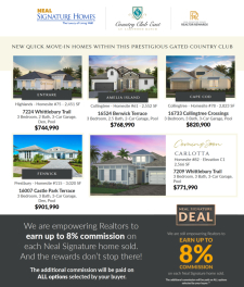 New Quick Move-In Homes at Country Club East