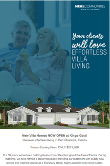 New Villa Homes Now Open at Kings Gate!