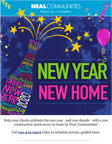 New Year New Home - Find a Quick Move-In Home For Your Client!