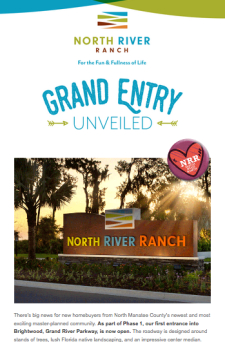North River Ranch is Now Selling!