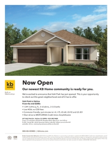 Our newest KB Home community is ready for you