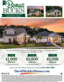 Sell More Make More with David Weekley Homes!
