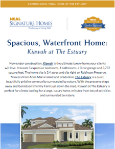 A Must-See Waterfront Opportunity for Your Discerning Clients