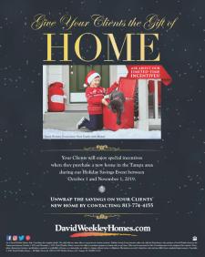 David Weekley Homes Gift of Home