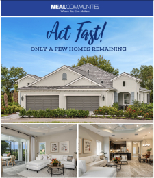 Final Closeout Opportunities for Your Clients at Poinciana!