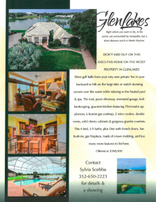 GlenLakes Golf & Country Club Executive Home for Sale