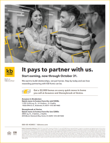 It Pays to Partner with us! Start Earning, Now Through October 31.
