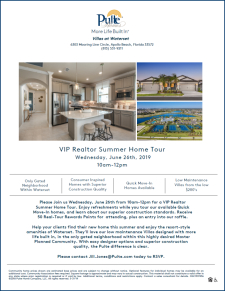 Join Us for a VIP Realtor Summer Home Tour at Waterset!