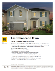 Last Chance to Own at Ibis Cove!
