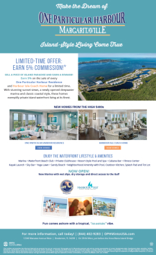 Limited Time Only! Earn 5% at Harbour Isle and One Particular Harbour