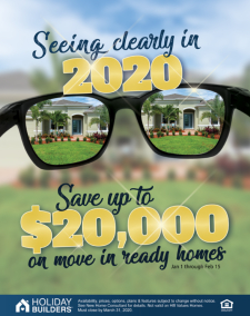 Save Up To $20,000 on Move-In Ready Homes!