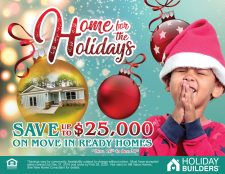 Save Up to $25,000 on Move-In Ready Homes