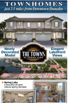 The Towns at Spring Lake is Now Selling!